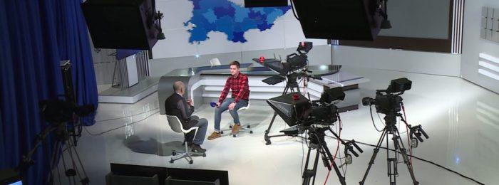 Съемка интервью